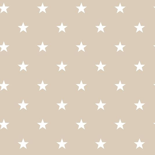 Deauville Stars Wallpaper An Light Taupe With All Over Star Design In White