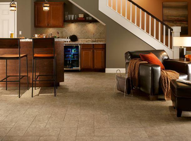 Basement Flooring Options   Creative Basement Ideas From Armstrong