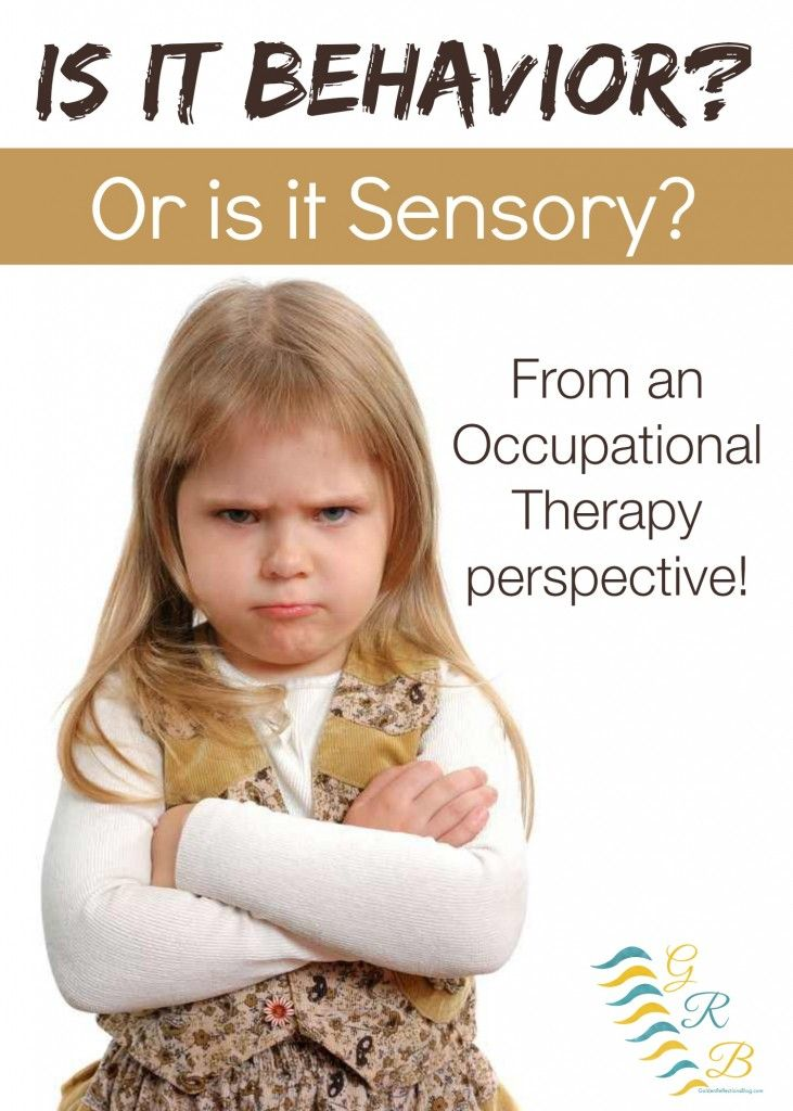 Is your child's behavior really a behavior problem or could it be an underlying sensory processing problem? | www.GoldenReflectionsBlog.com