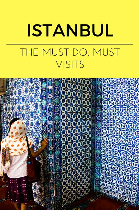 Istanbul sightseeing travel guide Turkey