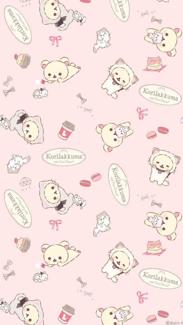 Pin By 怡君 陳 On Rilakkuma Wallpaper Cute Anime Wallpaper