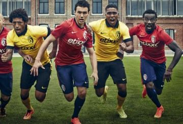 Lille OSC 2014/15 Nike Home and Away Kits
