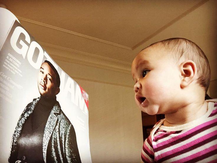 Pictures of John Legend and Chrissy Teigen's Daughter Luna   POPSUGAR Celebrity