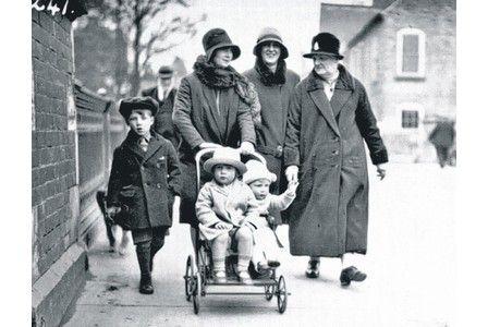 the Clarke family on Bridgegate Retford