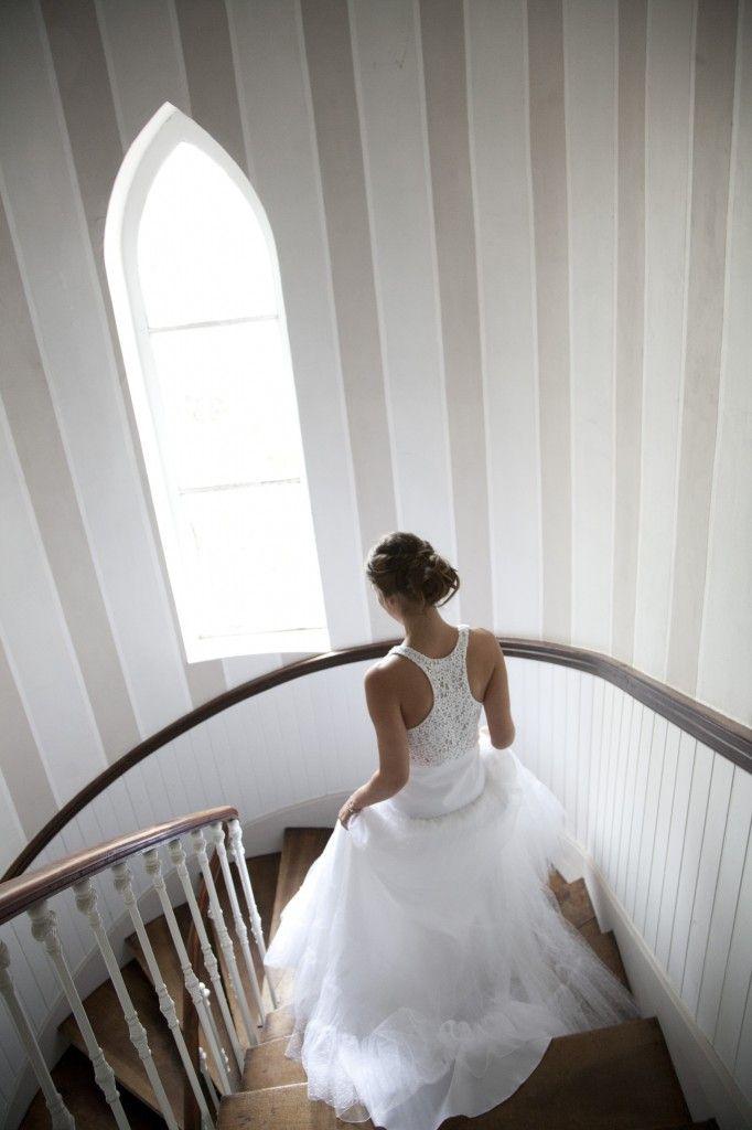 ...  Escalier De Mariage, Photos De Mariage et Guirlande De Fleurs