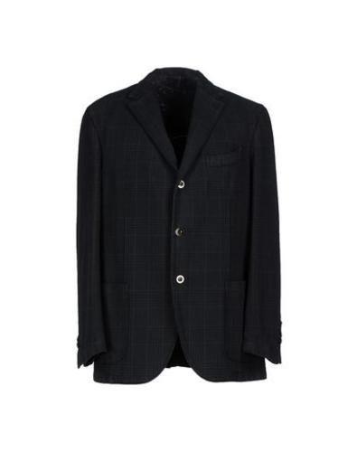 #Boglioli giacca uomo Verde scuro  ad Euro 364.00 in #Boglioli #Uomo abiti e giacche giacche