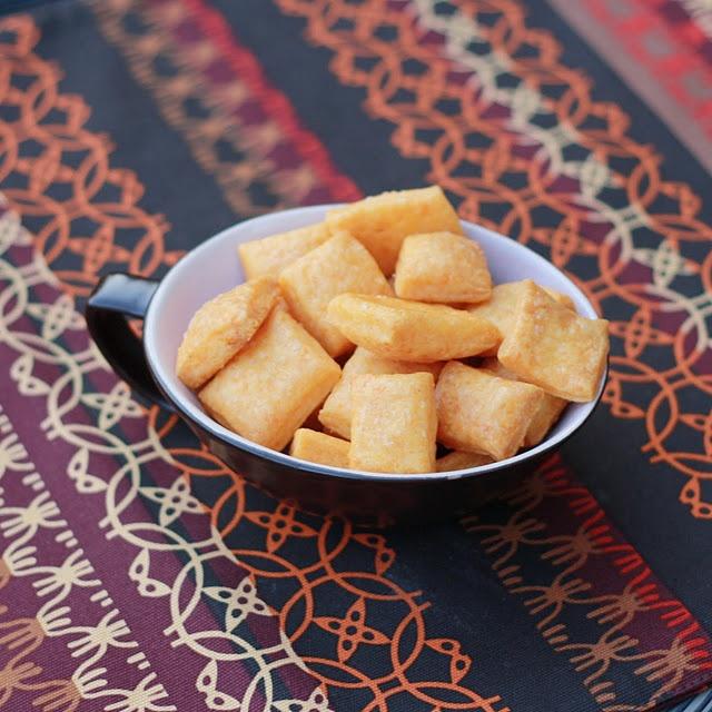 Homemade Cheez-its #snacks