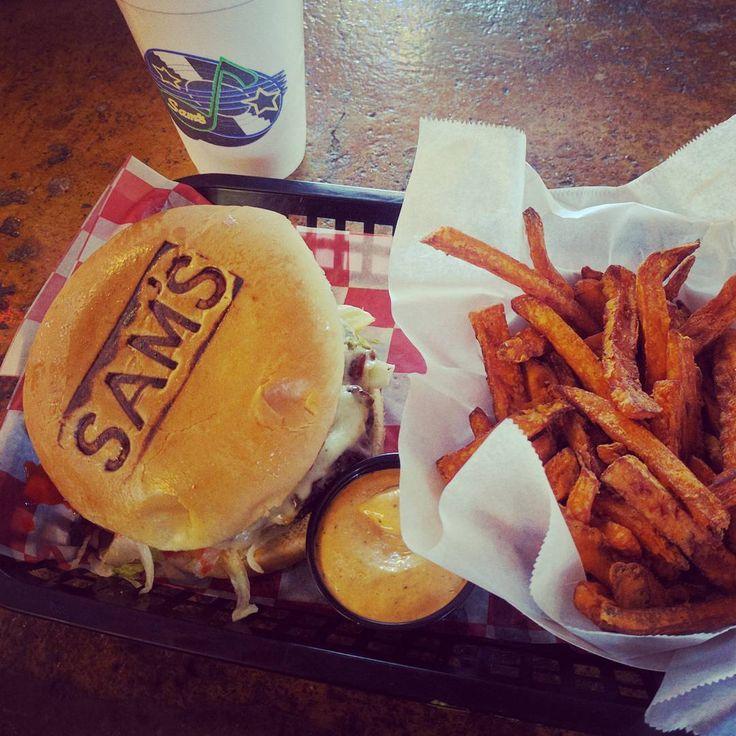 Sam's Burger Joint - Restaurant and concert hall; Restaurant Mon-Thur 11am-10pm