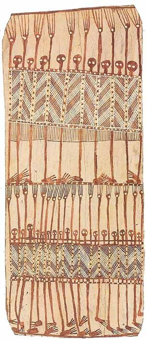 Australian Aboriginal Bark Painting