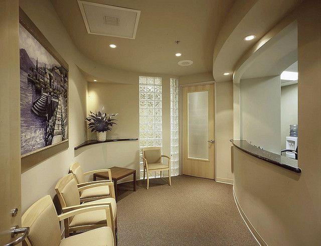 Simple beige color medical waiting room furniture ...