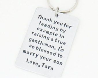 Personalized wedding gift for father of the groom by belvidesigns