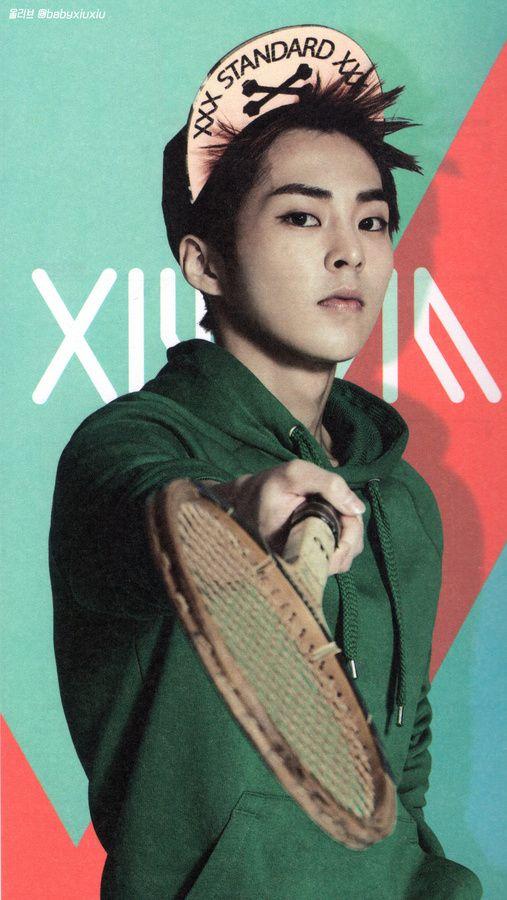HQ [scans] EXO's 2014 Official calendar - Xiumin