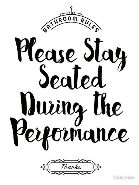 Please Remain Seated Bathroom Sign Framed Print in 2019 Grill re