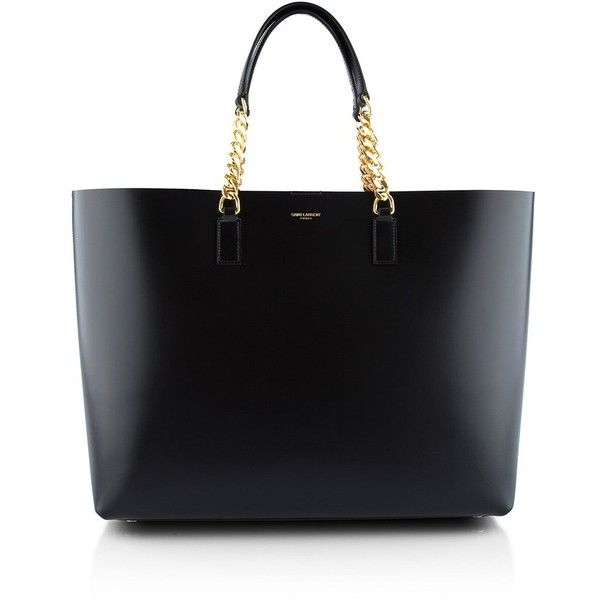 Saint Laurent Shopping Tote ($1,270) ? liked on Polyvore ...