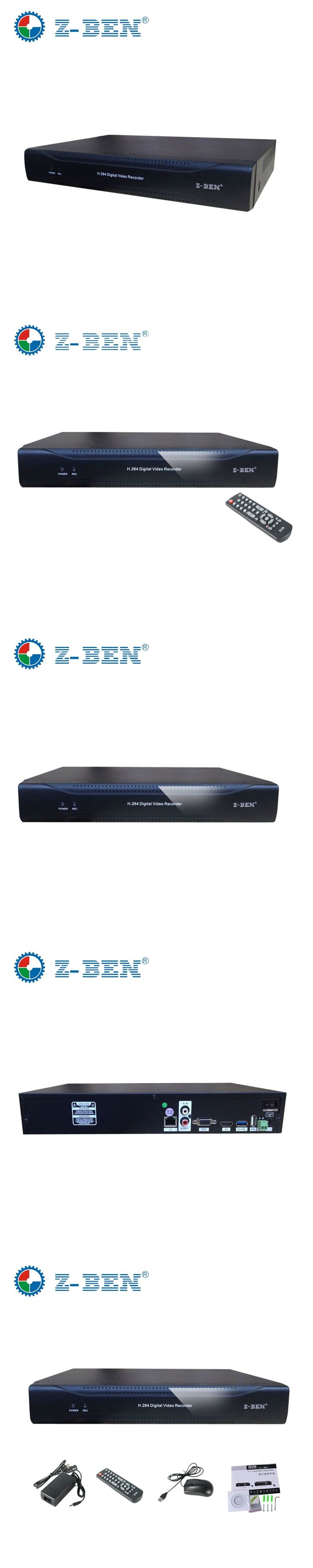 ZBEN Hot Sale CCTV NVR 16CH Onvif H.264 HDMI 1080P Network Video Recorder for IP Camera NVR 16 Channel 960P 8 Channel  P2P Cloud
