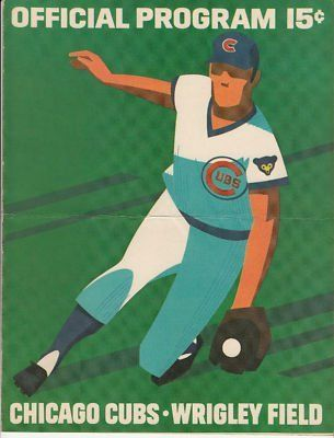 Vintage June 27 1972 Chicago Cubs Official Program . $15.00. Vintage Official Chicago Cubs 1972 ProgramProgram is from the June 27, 1972 GameBetween the Chicago Cubs and the Philadelphia PhilliesScorecard in program is neatly scoredScored was folded in half and has a crease from that fold.WONDERFUL AUTHENTIC CHICAGO CUBS BASEBALL COLLECTIBLE!!
