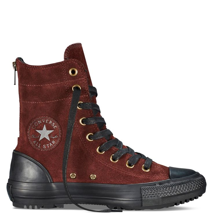 Womens Chuck Taylor Hi-Rise Boot Burnt Umber/Black/Natural burnt umber/black/natural