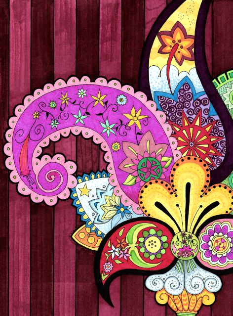 Paisley Flower by ~ParaAbduction51 on deviantART