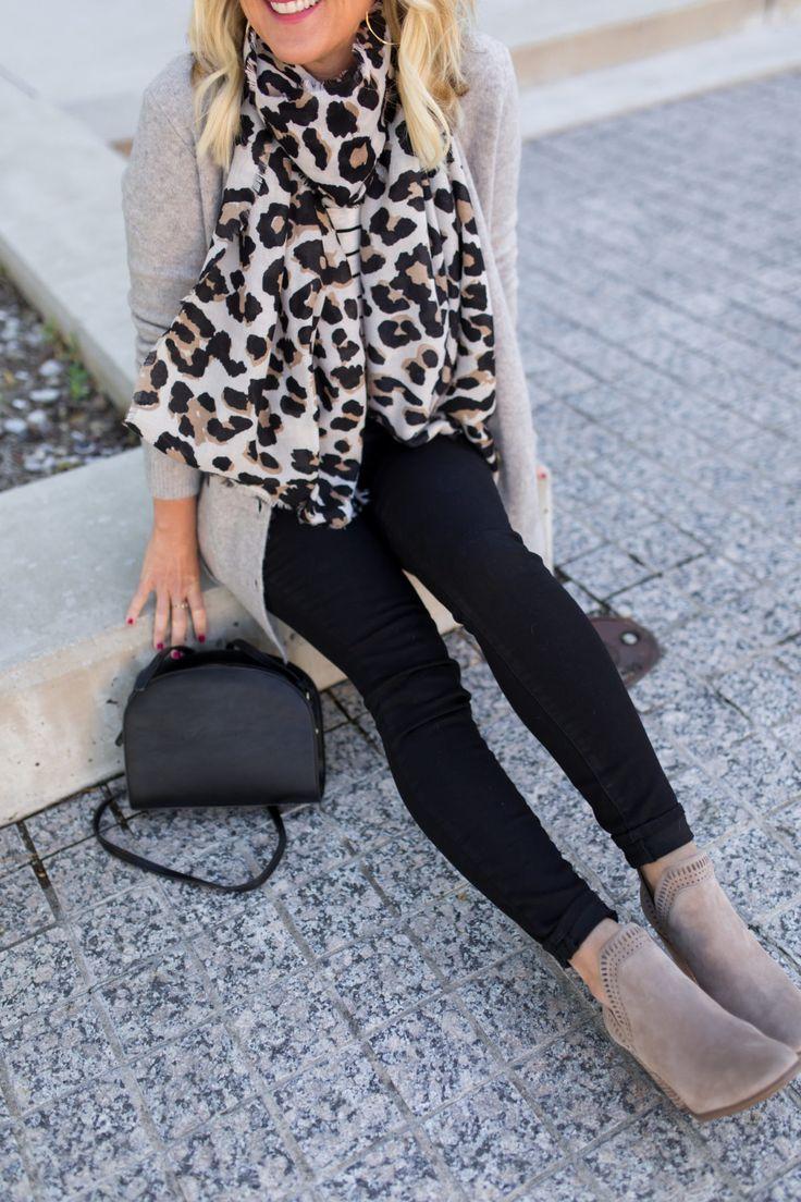 Black Jeans | Stripes & Leopard (Plus, a Girlfriend Gift Guide!)