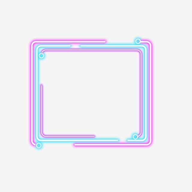 Simple Color Neon Border Simple Color Neon Png Transparent Clipart Image And Psd File For Free Download Neon Png Simple Colors Graphic Design Background Templates