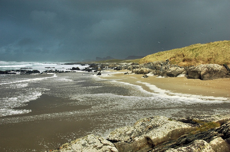 Dark and stormy Saligo Bay, Isle of Islay