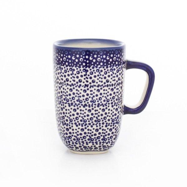 KUBEK MAGDA  Piękny wyrób ceramiczny, ręcznie malowany, bezpieczny dla zdrowia, można używać w mikrofalówkach, piekarnikach i zmywarkach....