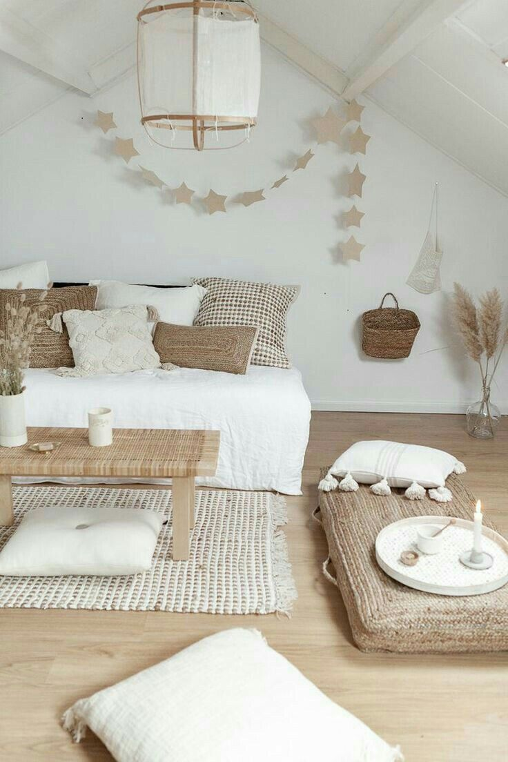 Pin By Pirjo Haapalahti On Homes Koti Home Decor Bedroom Bedroom Decor Loft Room
