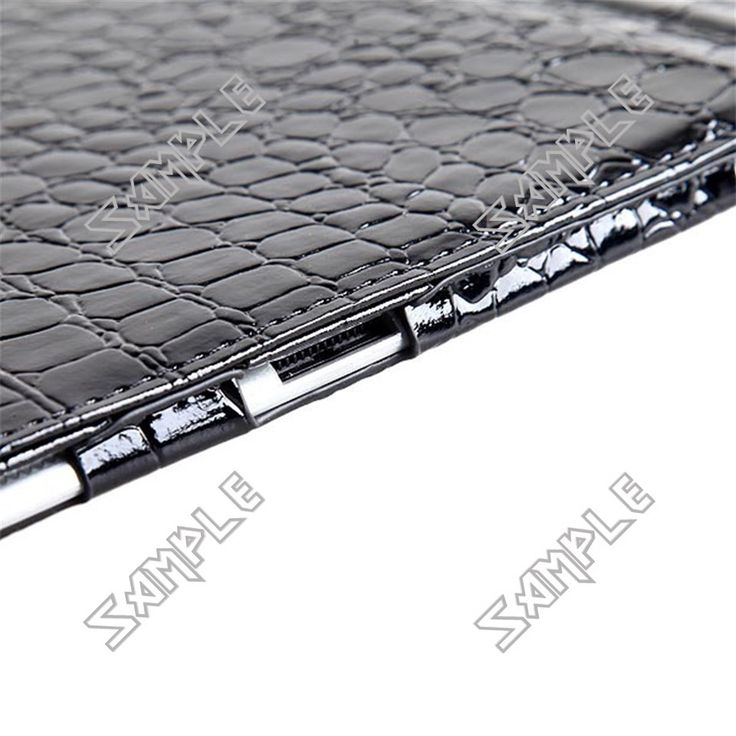 Alligator Skin Pattern Protective Case Synthetic Leather Shell Cover Traveling Companion for Apple iPad 2 iPad2
