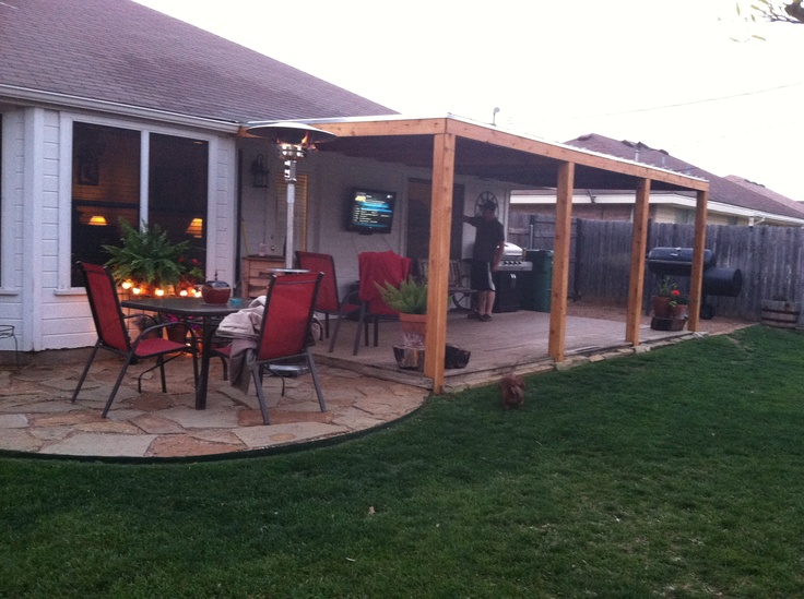 Elegant My Husband Just Completed Our New Cedar Patio Porch Cover. Now