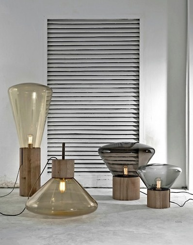 Muffin Lamps created by Paris-based designers Dan Yeffet and Lucie Koldova.