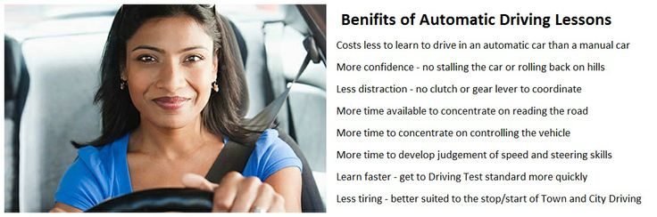 Benefits of #Automatic #Driving #Lessons from Award School of Motoring