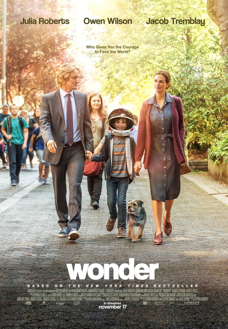 Wonder - new film poster: https://teaser-trailer.com/movie/wonder/  #Wonder #WonderMovie #MoviePoster #OwenWilson #JuliaRoberts #JacobTremblay