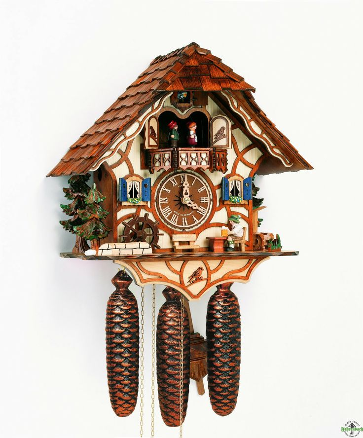 chalet cuckoo clocks cuckoo clock chaletstyle by anton schneider