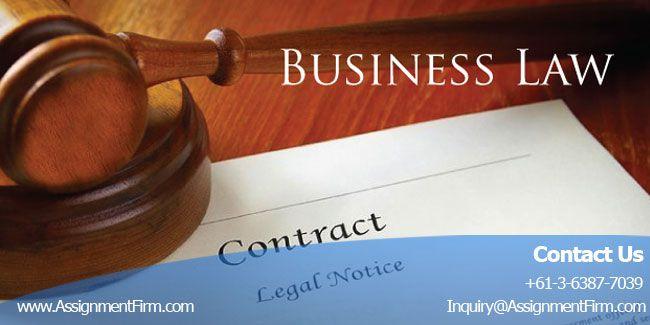 business law partnership case study