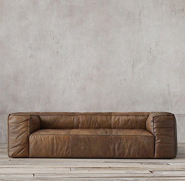 Sofa Beds Fulham Leather Sofa