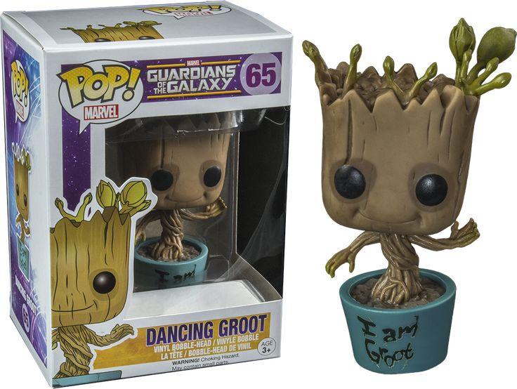 Pop! Vinyl #65 Guardians of the Galaxy - Dancing Groot (I am Groot Edition)