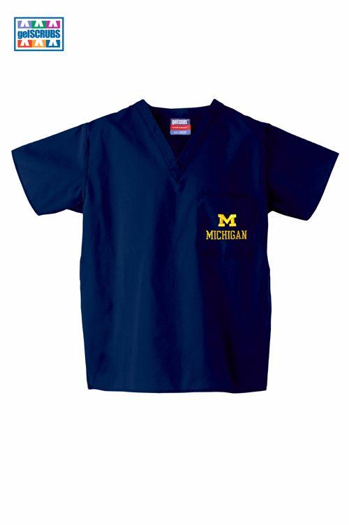 University of Michigan #scrubs #scrubadoo #MarchMadnessGiveaway