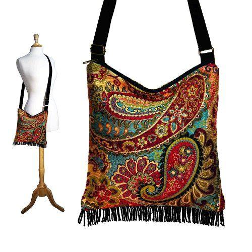 Bohemian Gypsy Fringe Bag