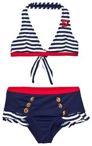 MC2 St Barth Navy Nautical Bikini