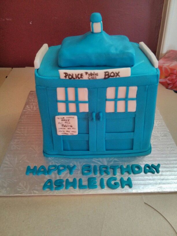 Cakes With Tardis Images