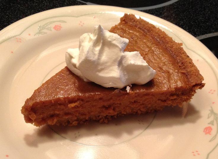 Skinny Pumpkin Pie | Skinny Mom | Tips for Moms | Fitness | Food ...