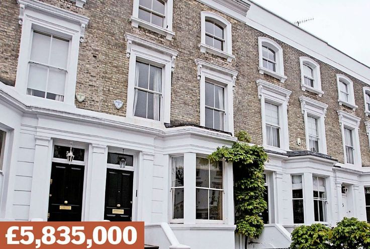 Abingdon Villas, Kensington: A terraced house near Kensington Palace Gardens - Britain's  priciest street, home to Chelsea FC owner Roman Abramovich. Sold in 2004 for £1.85million