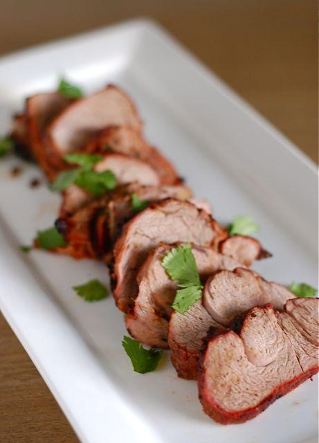 Recipe: Grilled Teriyaki Pork Tenderloin. We tried it, it's wonderful!