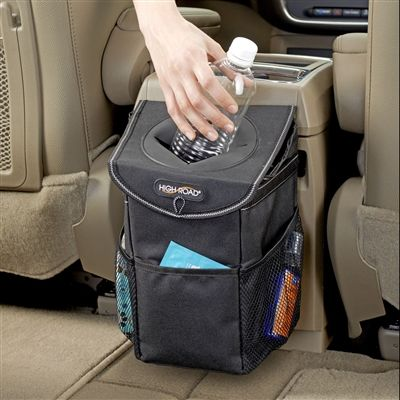 Now you see it, now you don't. Keep car trash covered. www.highroadorganizers.com