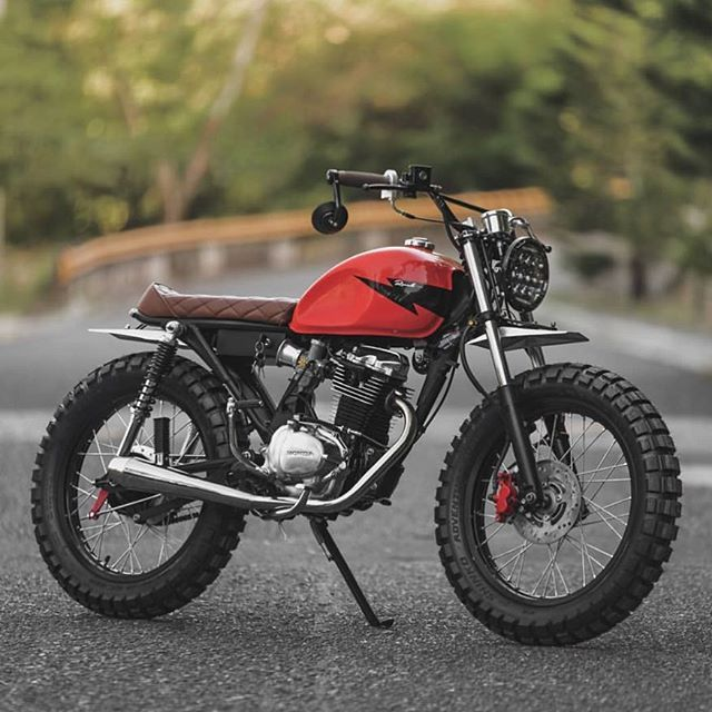 Revoltcycles From Cebu Build This Honda Tmx155 A Motorcycle Built By Details And Accessories What E Cafe Racer Motorcycle Cafe Racer Bikes Tracker Motorcycle
