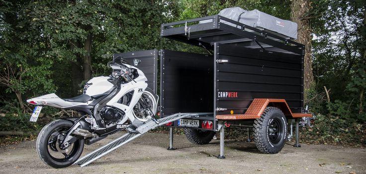 Campwerk Cargo stel je zelf samen - https://www.campingtrend.nl/motor-mee-campwerk-bike/