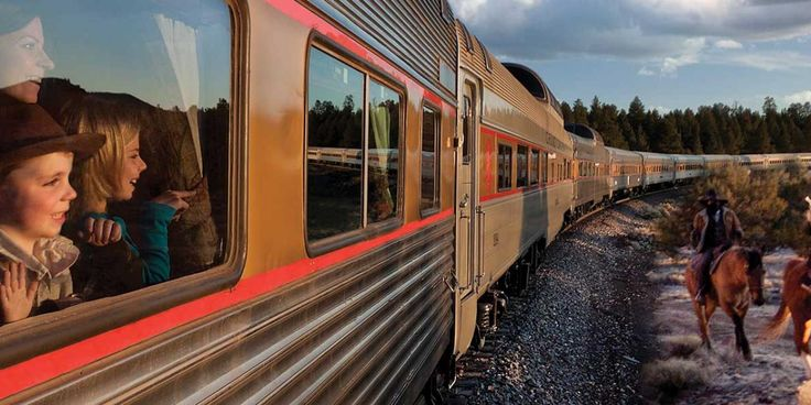 The Grand Canyon Railway travels between Williams, Arizona and the South Village…