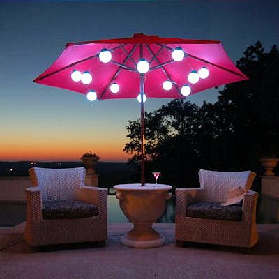 String Lights Under Umbrella : 17 Best images about Outdoors: Deck Party on Pinterest Fire pits, Umbrella lights and ...