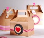 Cupcake boxes - SelfPackaging These are called Gable Boxes  see them at B2Bwraps.com