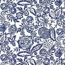 PRESTIGIOUS TEXTILES 100% COTTON CURTAIN FABRIC/CRAFT POLLY Indigo p/m